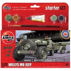 Airfix Jeep Mb 1/72 Plastic Model Kit