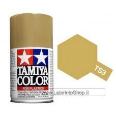 Tamiya Color - TS-3 Dark Yellow 100ml - Spray