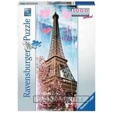 Ravensburger Panorama Vertical Parigi 1000 Pieces Puzzle