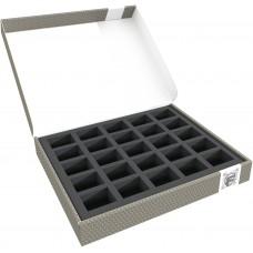 58870 Feldherr Storage Box FSLB040 for 25 miniatures