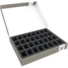 58868 Feldherr Storage Box FSLB040 for 32 miniatures