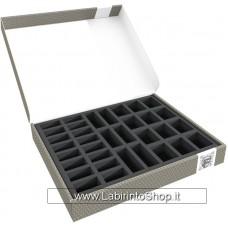 58869 Feldherr Storage Box FSLB040 for 34 miniatures