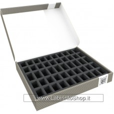 58867 Feldherr Storage Box FSLB040 for 50 miniatures