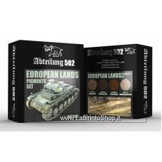 Abteilung 502 - ABT408 European Lands Pigments Set