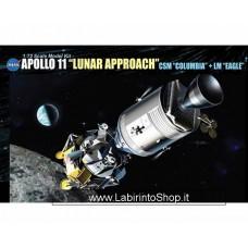 Dragon 11001 1/72 Apollo 11 Lunar Approach CSM Columbia + LM Eagle