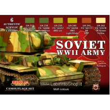 Lifecolor Acrylics LC-CS23 Soviet WWII Army