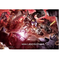 Jigsaw Puzzle M108-185 Mobile Suit Gundam Black Trinity (108 S-Pieces)