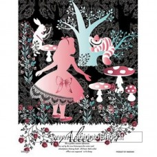 Jigsaw Puzzle 42-01 Alice in Wonderland (300 Small Pieces)