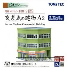 Tomytec 133 Corner Modern Commercil Building 1/150
