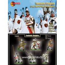 Mars 72052 - Teutonic Knights - 12 figures 1/72