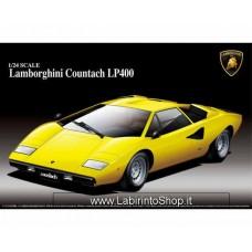 Aoshima Bunka Kyozai 1/24 Super Auto Serie No.1 Lamborghini Countach (Plastic model)