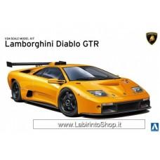 Aoshima Lamborghini Diablo GTR 1/24 (Plastic model)