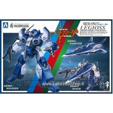 Aoshima Mospeada Macross Robotech Legioss Eta (Plastic model)