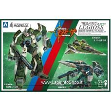 Aoshima Mospeada Macross Robotech Legioss Iota (Plastic model)