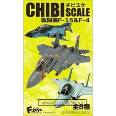 F.Toys Chibi Scale Fighter F-15 & F-4 (Shokugan)