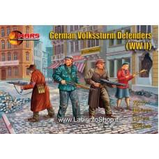 Mars 72117 - German Volkssturm Defenders WWII 1/72