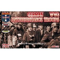 Orion German Antiresistance Troops WW2 48 Figures 1/72