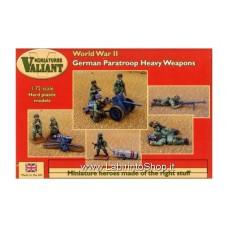 Valiant Minifigures - WWII - 1/72 - German Paratroop Heavy Weapons