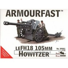 Armourfast 1/72 LEFH18 105mm Howitzer