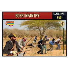 Strelets Boer Infantry 1/72