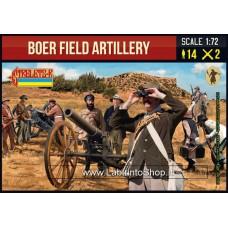 Strelets Boer Field Arillery 1/72