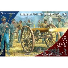 Perry Miniatures American Civil War Artillery 1861-1865 28mm 1/56