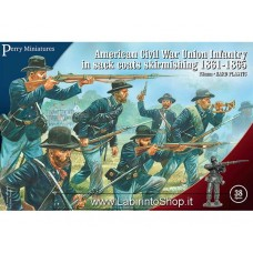 Perry Miniatures American Civil War Union Infantry In Sack Coats Skirmishing 1861-1865 28mm 1/56