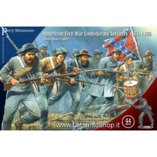Perry Miniatures American Civil War Confederate Infantry 1861-1865 28mm 1/56