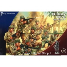 Perry Miniatures US Infantry 1942-45 28mm 1/56