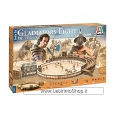 Italeri 1/72 6196 Gladiators Fight Ludus Gradiatorius