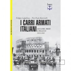 Leg - Biblioteca di Arte Militare - Carri armati italiani Leggeri, medi e pesanti 1919-1945