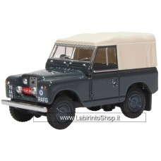 Oxford 1/76 Land Rover Series II SWB Canvas RAF Police