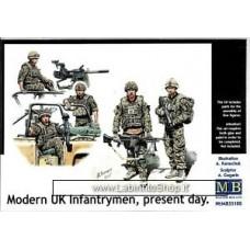 MasterBox 35180 Modern UK Infantrymen Present Day 1/35