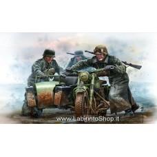 MasterBox 35178 German Motocyclists WWII Era 1/35
