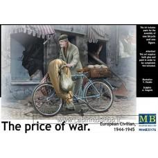 MasterBox 35176 The Price Of War European Civilian 1944-1945 1/35