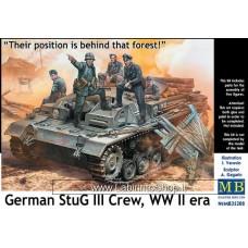 MasterBox 35208 German Stug III Crew WWII Era 1/35