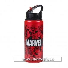 Marvel Aluminium Water Bottle Heroes
