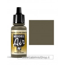 Vallejo Model Air 17ml 71.016 USAF Olive Drab