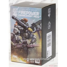 Acid Rain 1/18 Scale FAV-AP02 Fire Power Enhancement Pack (Completed)
