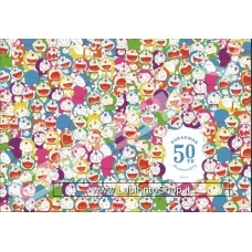 Puzzle Doraemon 50th Anniversary 1000 pieces - 51 x 73,5 cm