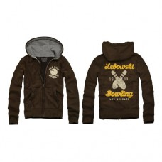 Big Lebowski Bowling Zip-Up Hoodie - Taglia XL