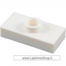 Maegablok - Plate 1 x 2 modificata con una borchia superioreVerde chiaro Lego