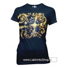 Dr. Who Van Gogh Pandoric Opens Blu T-Shirt