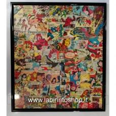 Marvel Collage I Vendicatori