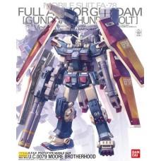 MG 1 / 100 FA-78-1 full armor and Gundam Ver.Ka (GUNDAM THUNDERBOL)