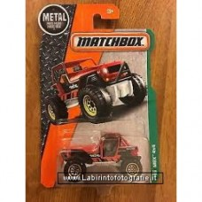 Matchbox 2016 Metal MBX 4x4