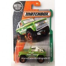 Matchbox 2016 Metal Ford Bronco 4x4