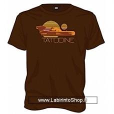Star Wars Star Wars - Tatooine Brown T-shirt Taglia XL
