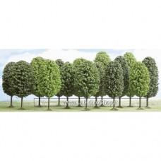 Set di 12 Alberi da 70 a 125 mm