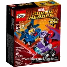 Mighty Micros: Wolverine vs. Magneto